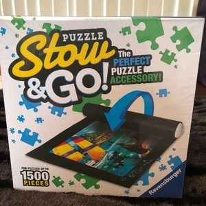 NEW Puzzle Stow & Go